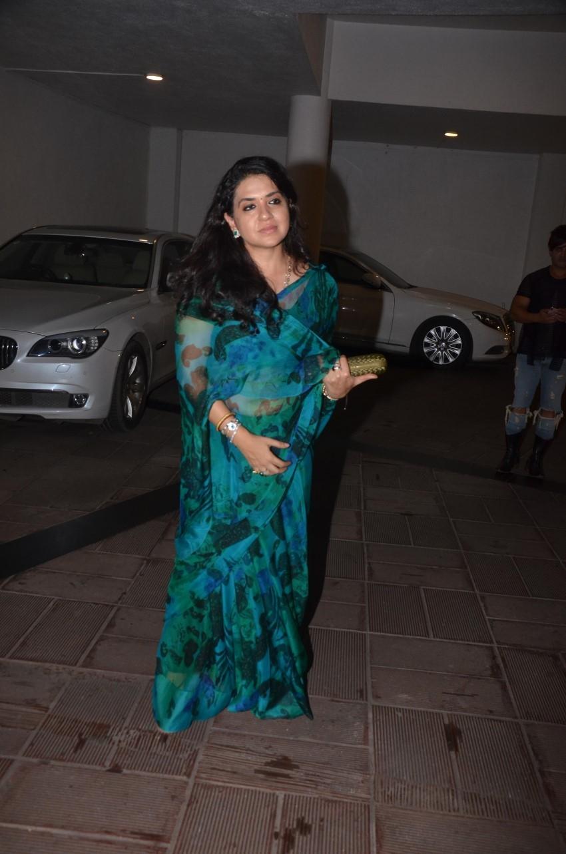 Celebs at Manish Malhotra's house party Photos
