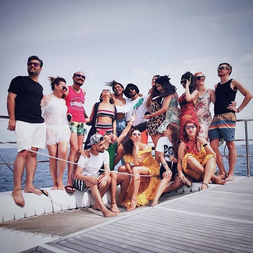 Jacqueline Fernandez Vacation Photos