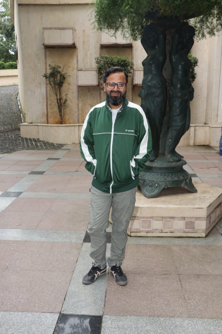 John Abraham & Mrunal Thakur promote their film 'Batla House' at Radio City office in Mumbai Photos