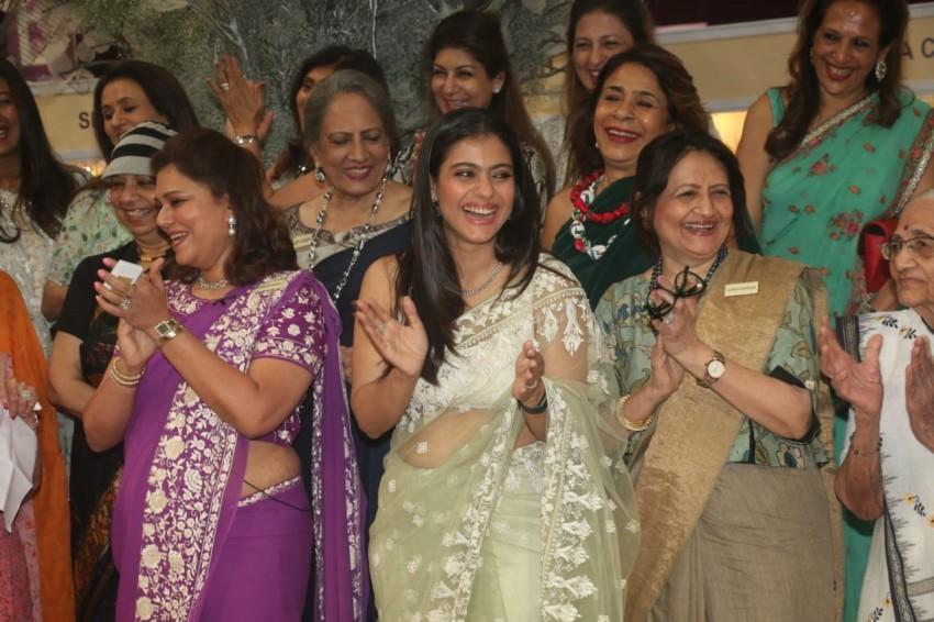 Kajol & Kokilaben Ambani snapped at Opening Ceremony of IMC Ladies Wing Photos