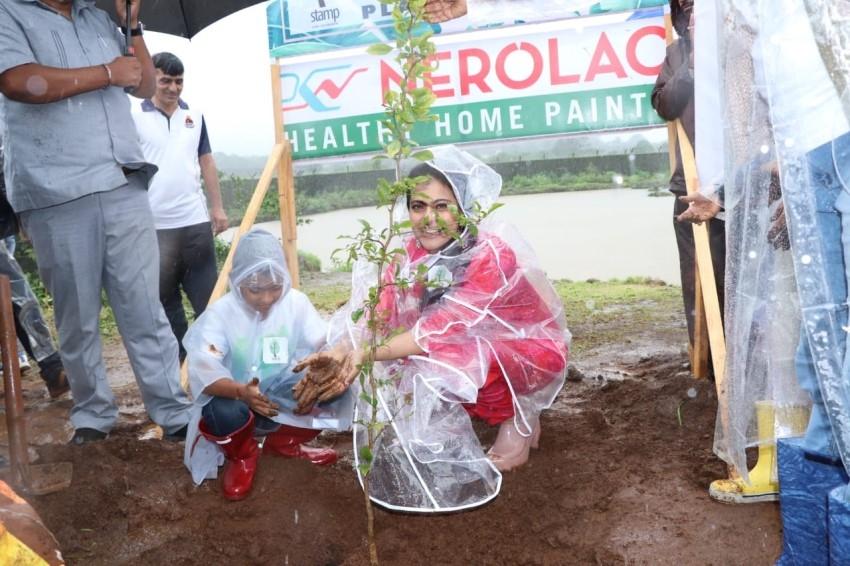 Kajol, Tanuja, Tanishaa Mukerji & Jackie Shroff at Earth Renewal Project by Stamp Photos