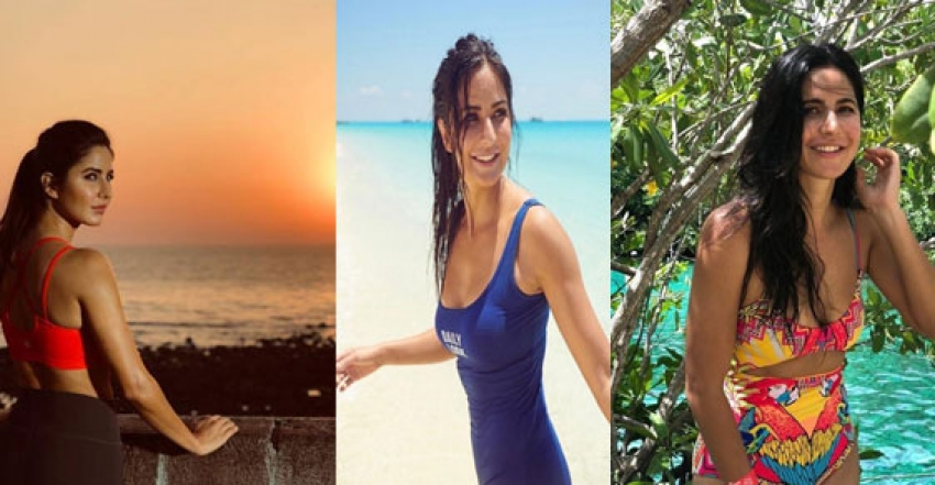 Katrina Kaif Beach Vacation Photos