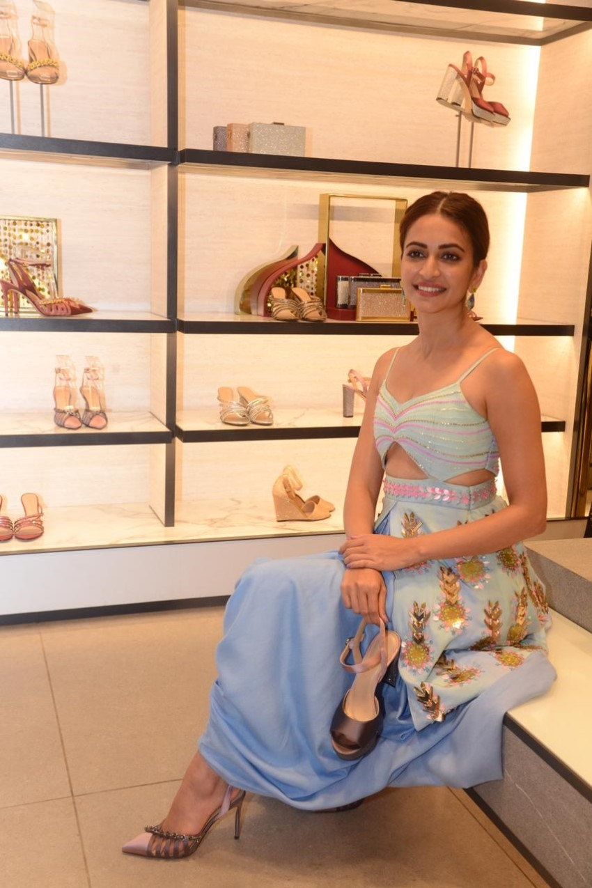 Kriti Kharbanda snapped at the unveiling of the Charles & Keith wedding collection Photos