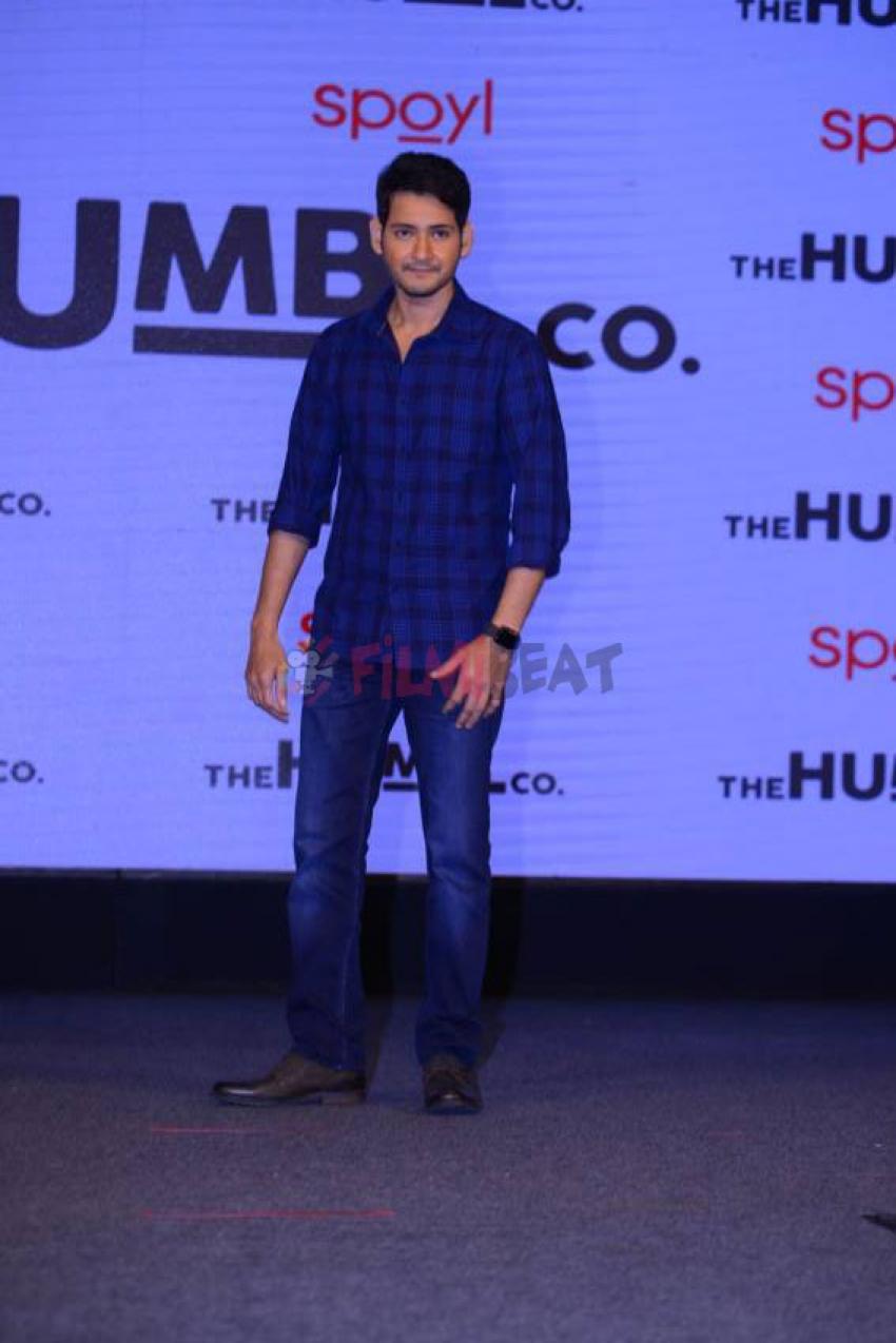 Mahesh Babu As Brand Ambassador for Humbl Photos