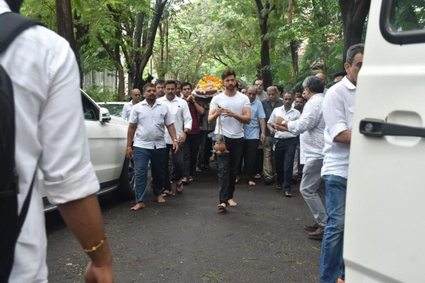 Om Prakash Funeral Photos