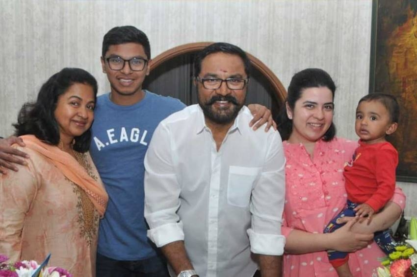 Raadhika Sarathkumar Daughter Rayanne Hardy Family Unseen Photos