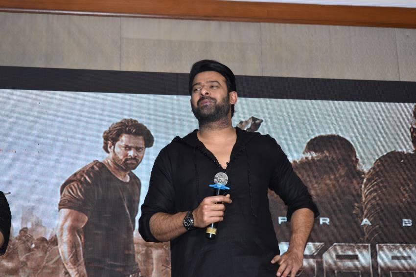 Saaho Movie Press Meet In Bengaluru Photos