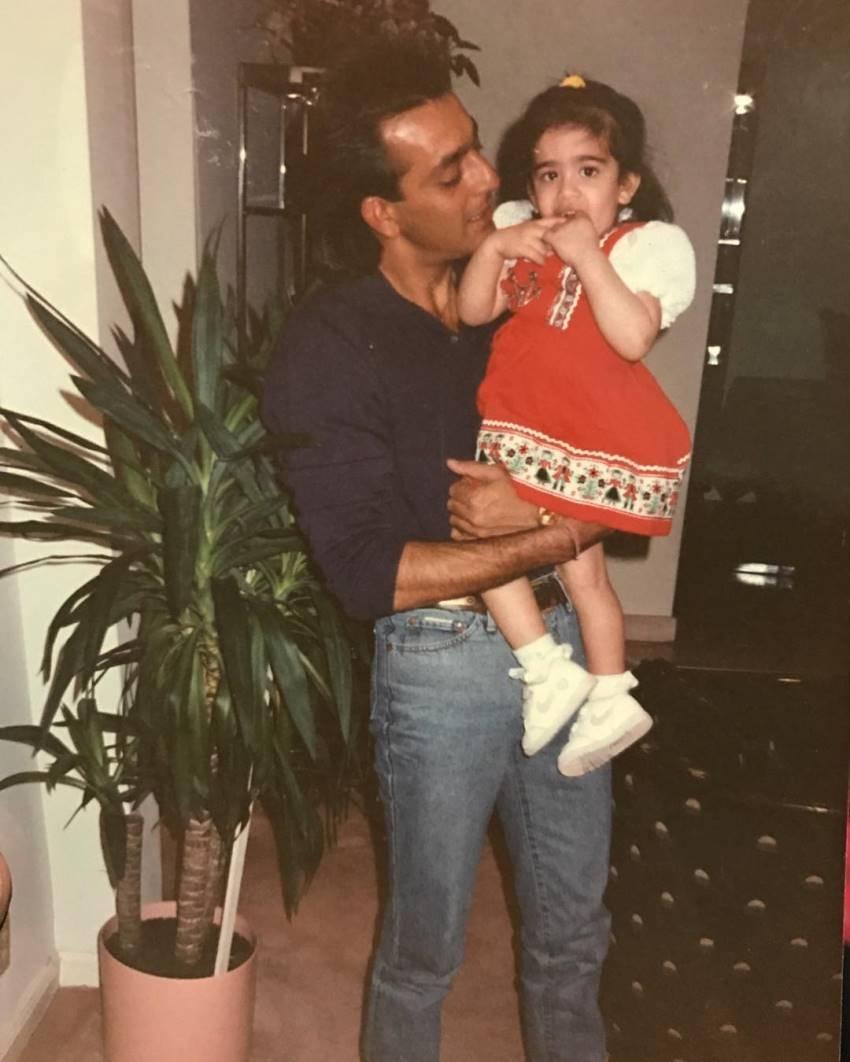 Sanjay Dutt's Daughter Trishala Dutt Unseen Photos