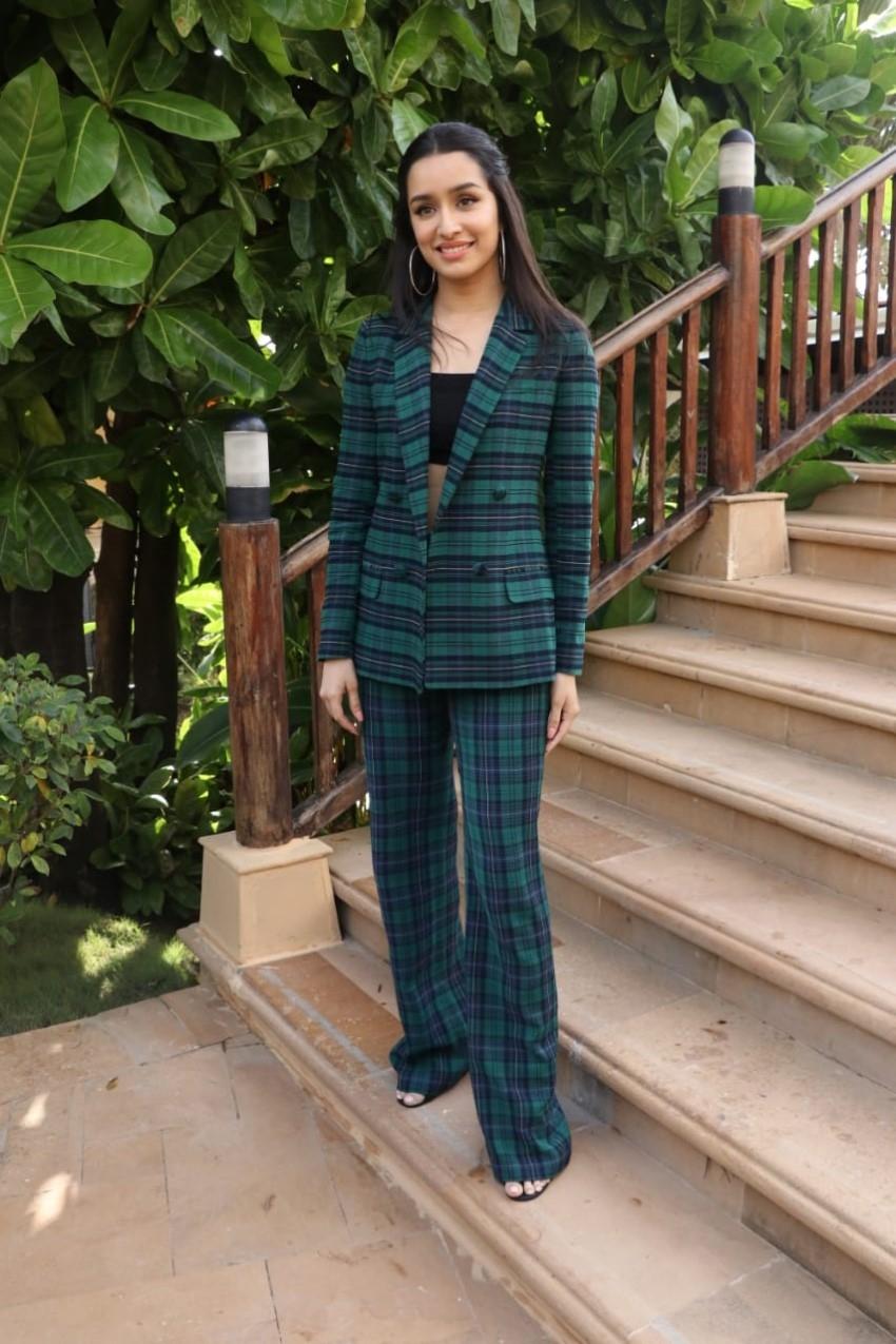 Shraddha Kapoor & Prabhas snapped promoting Saaho at JW Marriott Photos