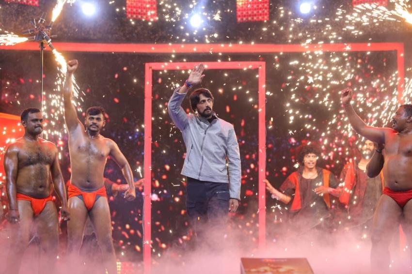 Sudeep's Pailwan Audio Launch Photos