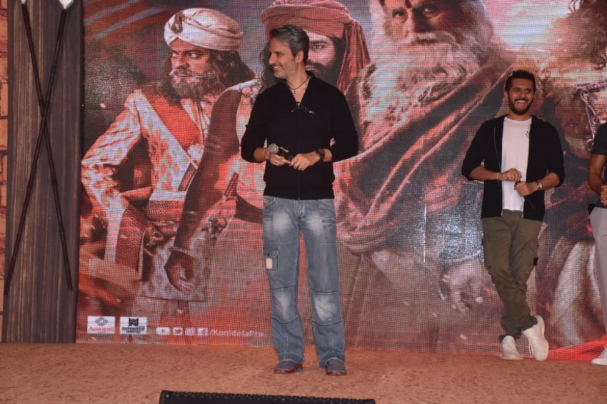 Sye Raa Narasimha Reddy Teaser Launch Photos