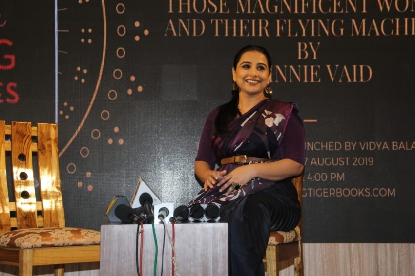 Vidya Balan At The Book Launch On ISRO By Minnie Vaid Photos