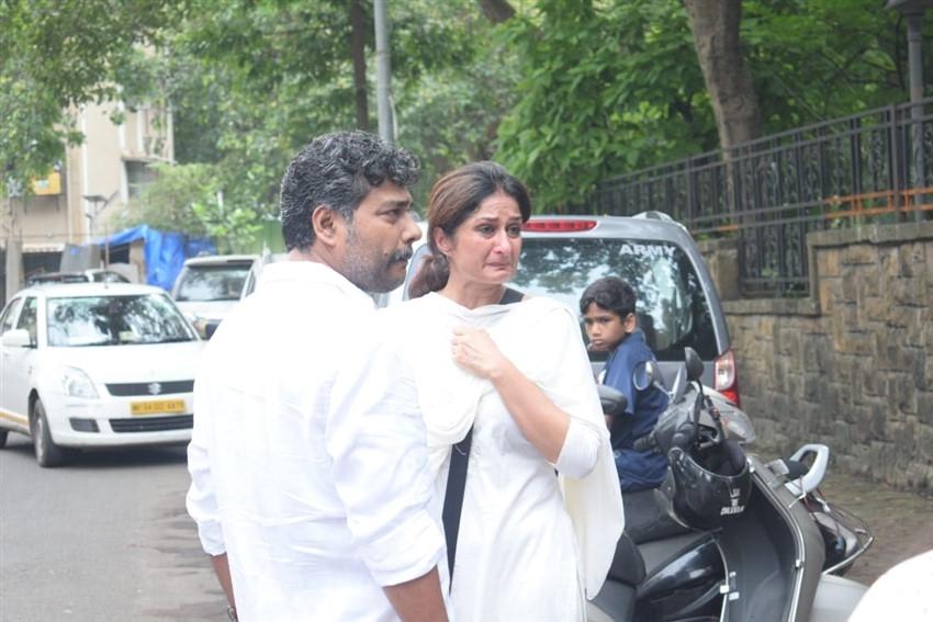 Vidya Sinha Funeral Photos