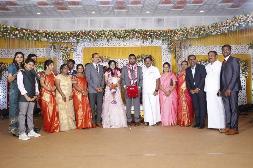 Actor Charlie Son Adhithiya Charlie & Amritha Wedding Reception Photos