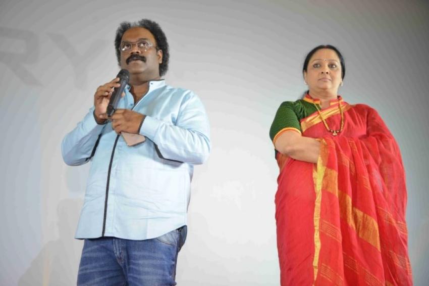 Adhyaksha in America Audio Release Photos