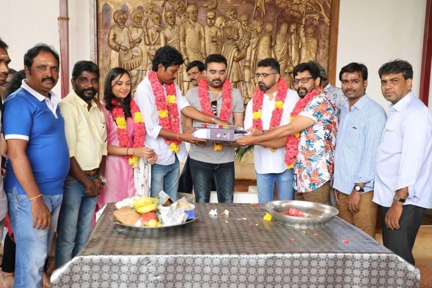Agni Natchathiram Movie Pooja Photos