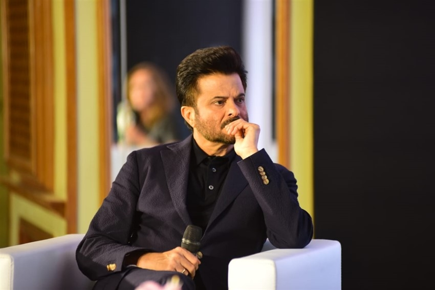 Anil Kapoor At ErosNow & Microsoft Event For The Next Level Of Innovation Photos