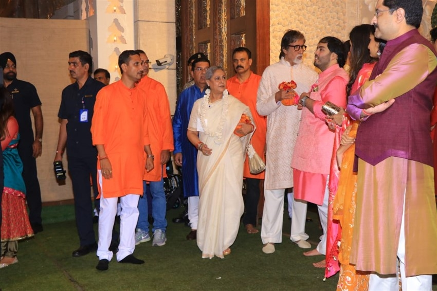 Celebs At Anil Ambani's Residence For Ganesh Chaturthi Celebration 2019 Photos