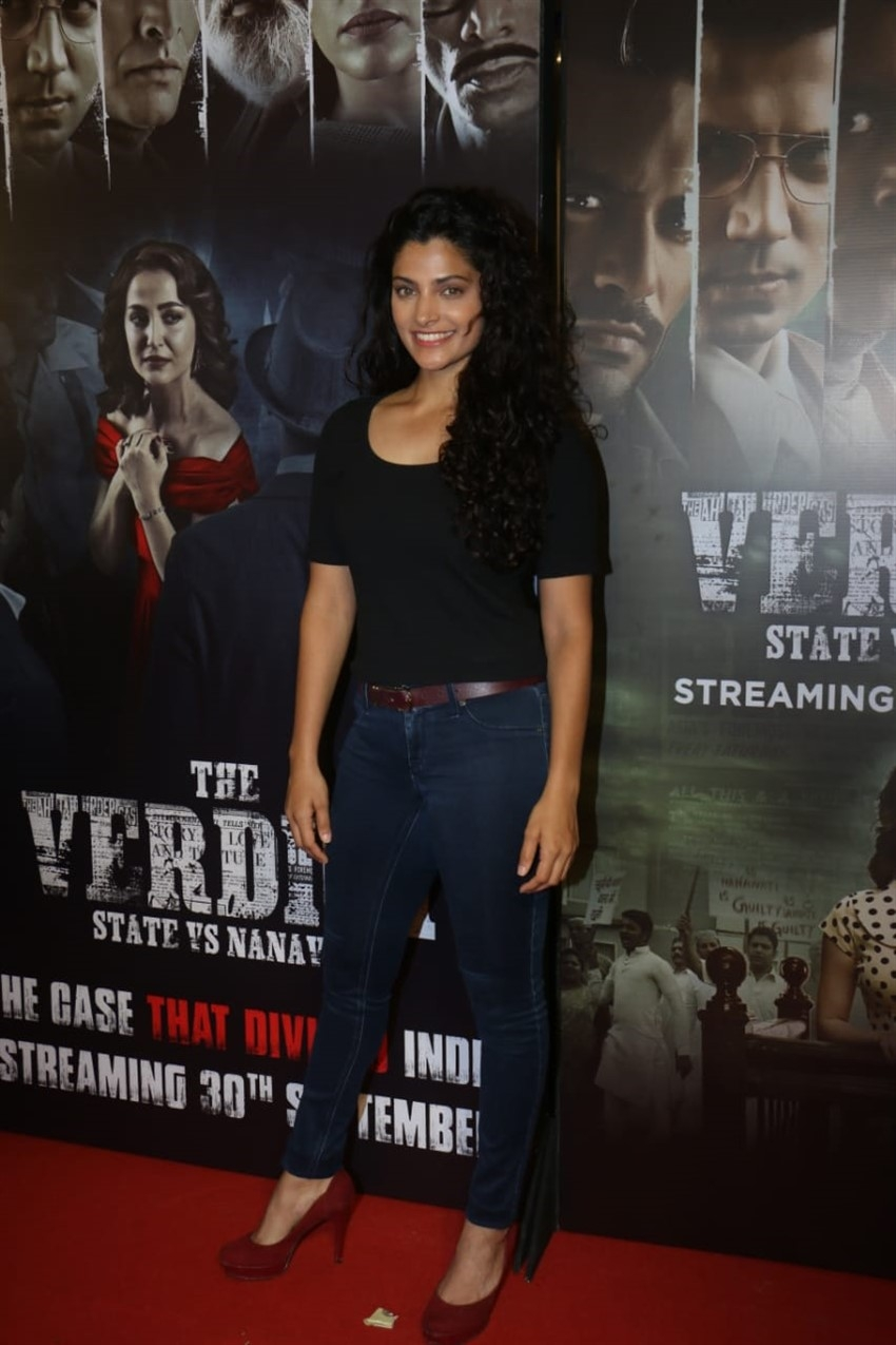 Celebs at the screening of 'The Verdict – State Vs Nanavati' web series Photos