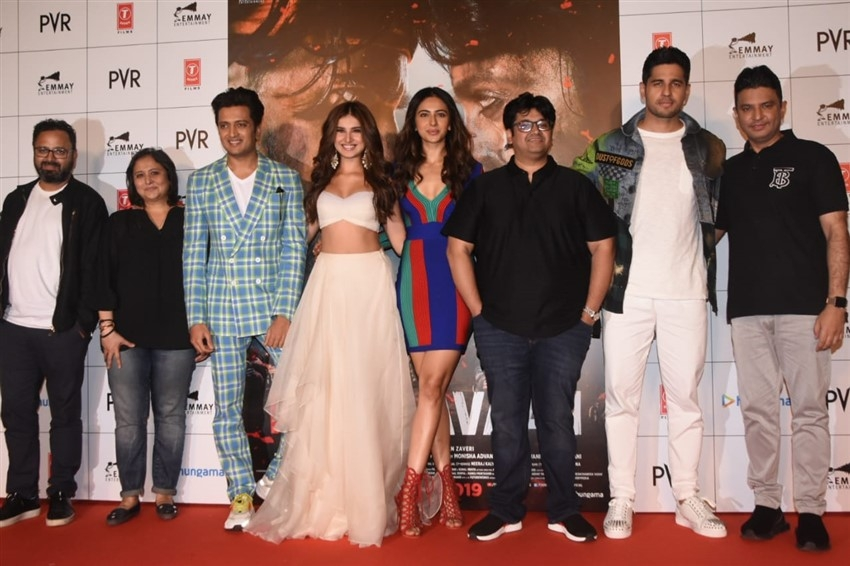 Celebs at trailer launch of Marjaavaan Photos