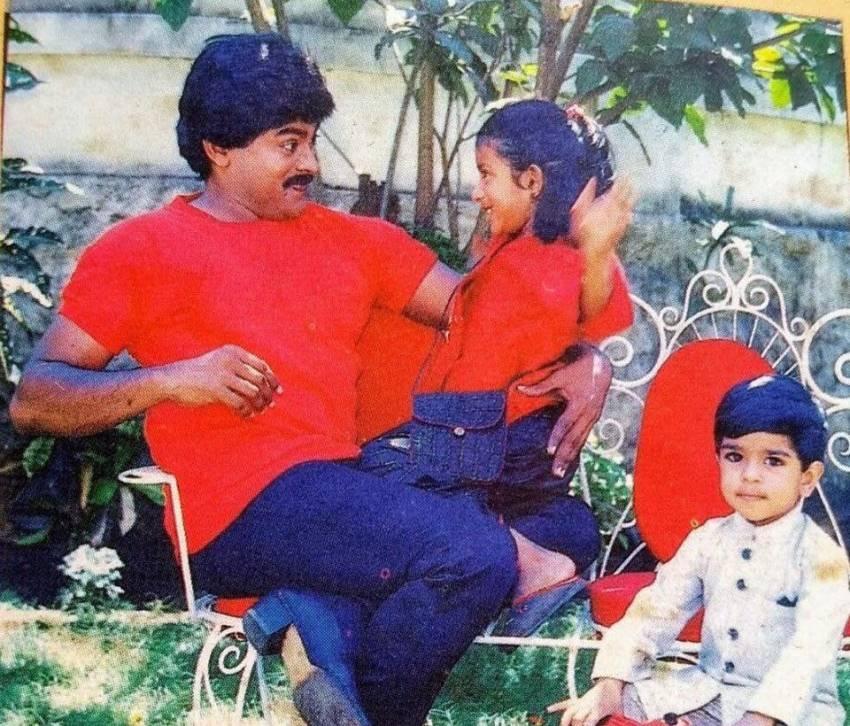 Chiranjeevi's Daughter Sushmita Family Unseen Photos