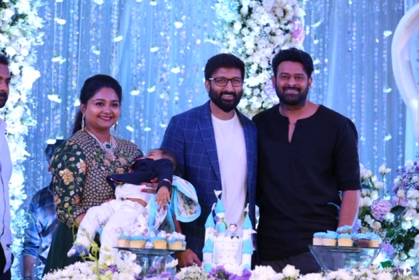 Gopichand's Younger Son Viyaan's 1st Birthday Celebrations Photos
