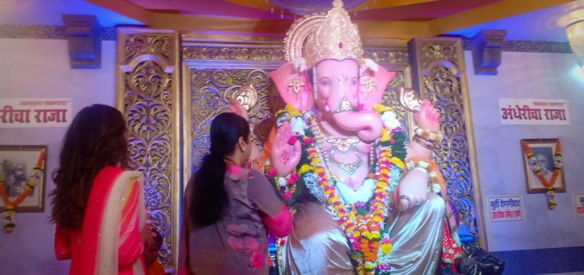 Indian Celebs Celebrate Ganesha Festival 2019 Photos