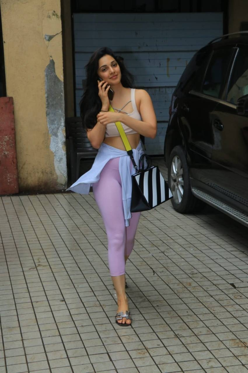 Kiara Advani Spotted In Glam Look At Boxing Class Photos