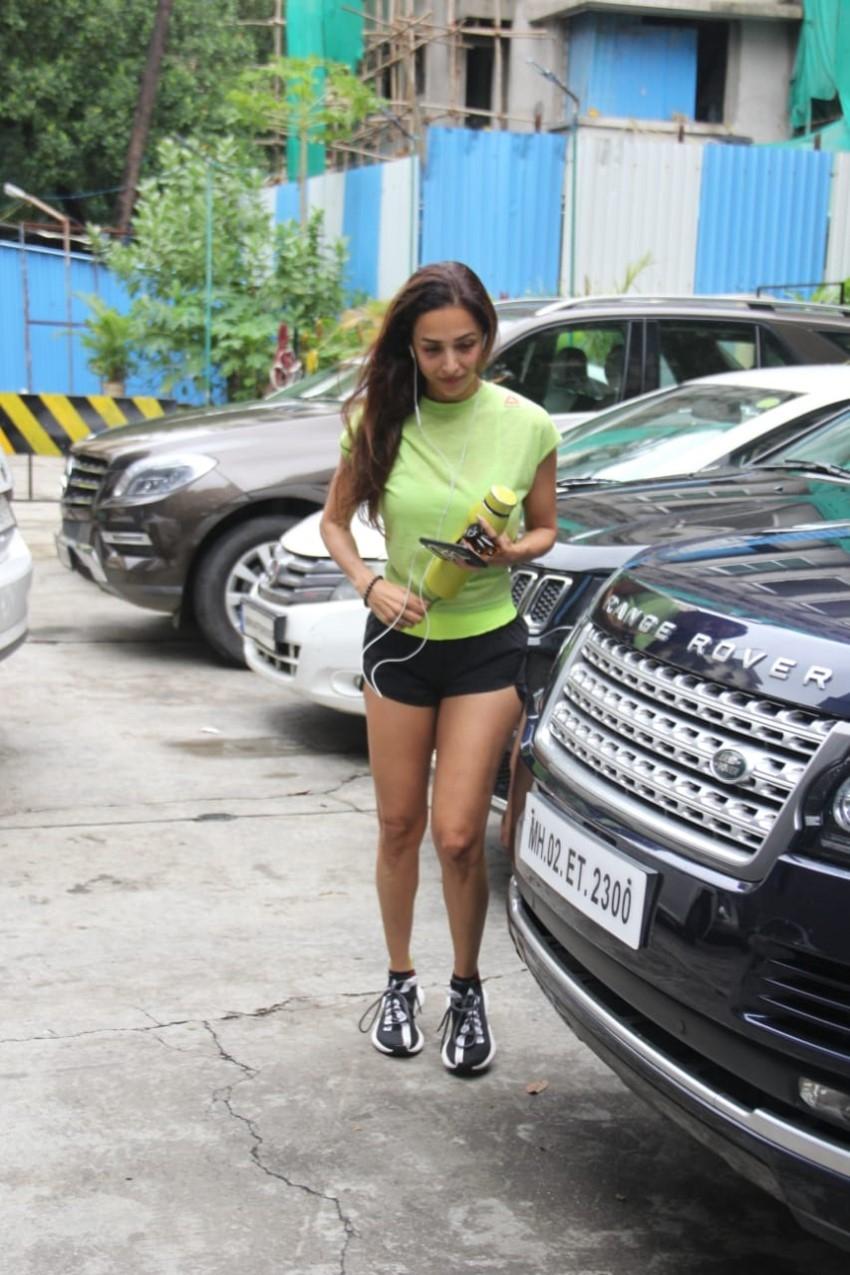 Malaika Arora Spotted At I Think Fitness Photos
