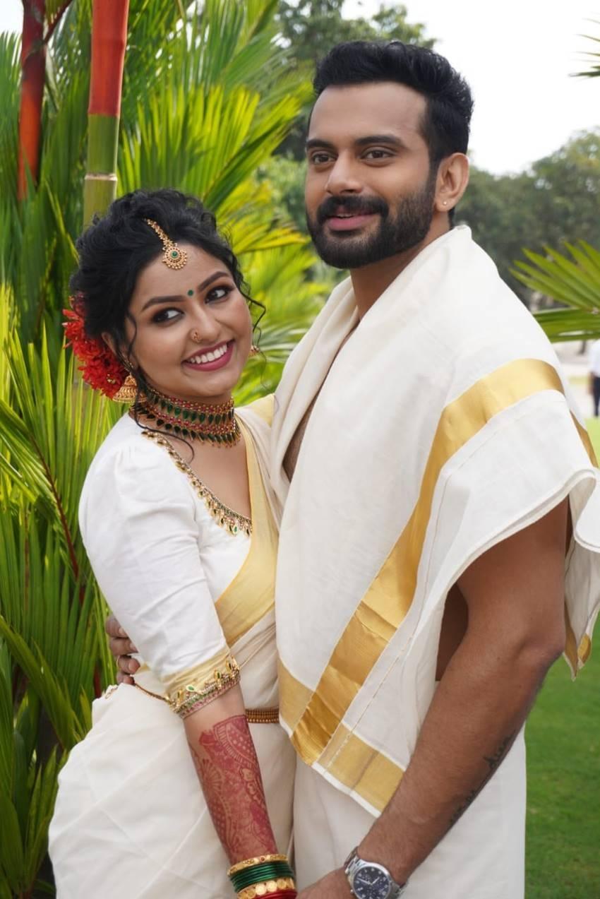 Malayalam Actor Hemanth Menon Enters Wedlock With Alina Photos