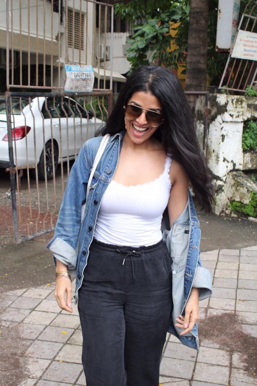 Nimrat Kaur Looks Hot In Trendy Look In Mumbai Photos