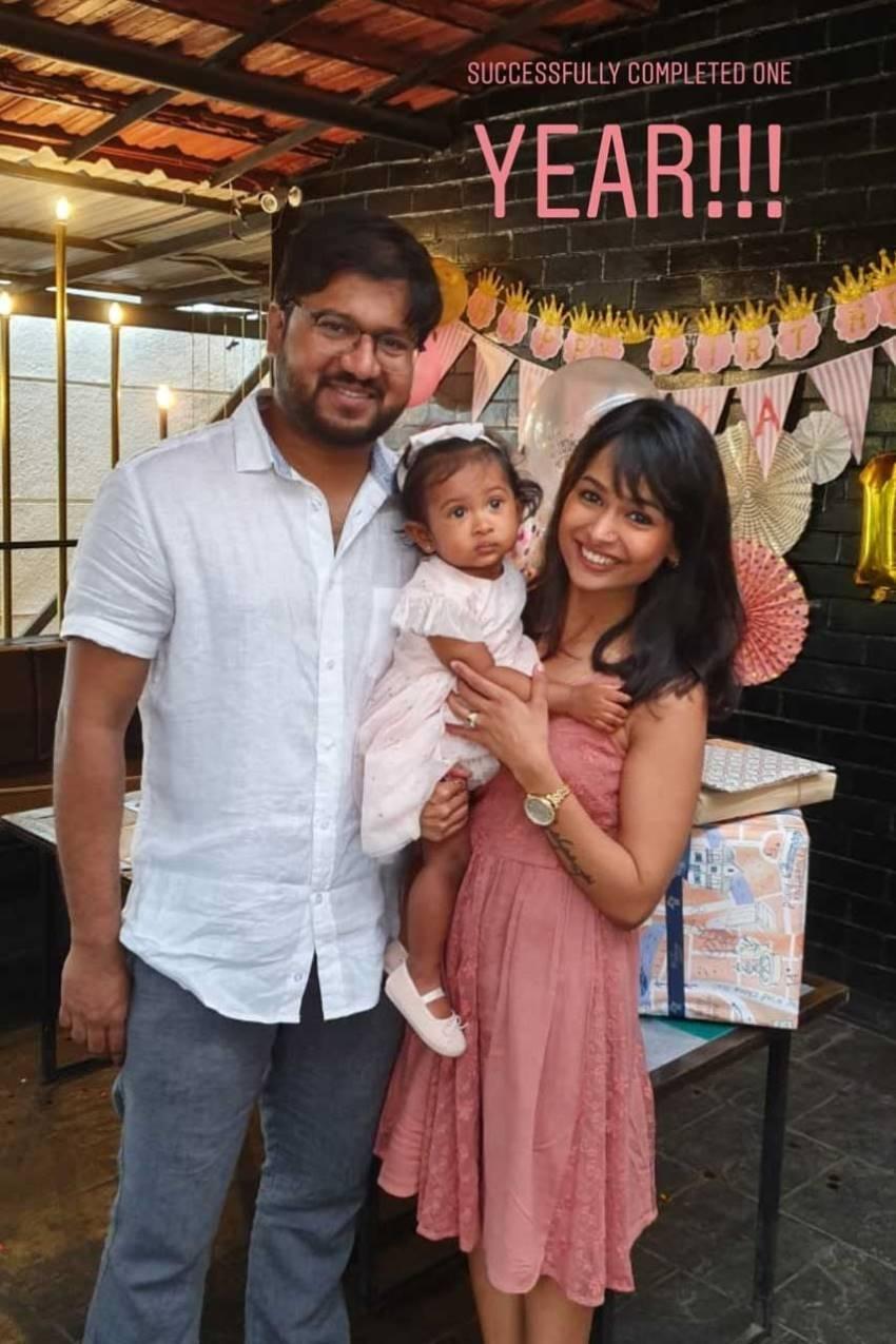 Poornitha(Kalyani) Family Photos