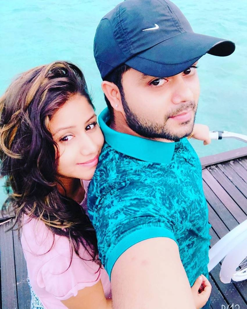Secretly Married Television Actor Sanjeev & Alya Manasa Honeymoon Photos