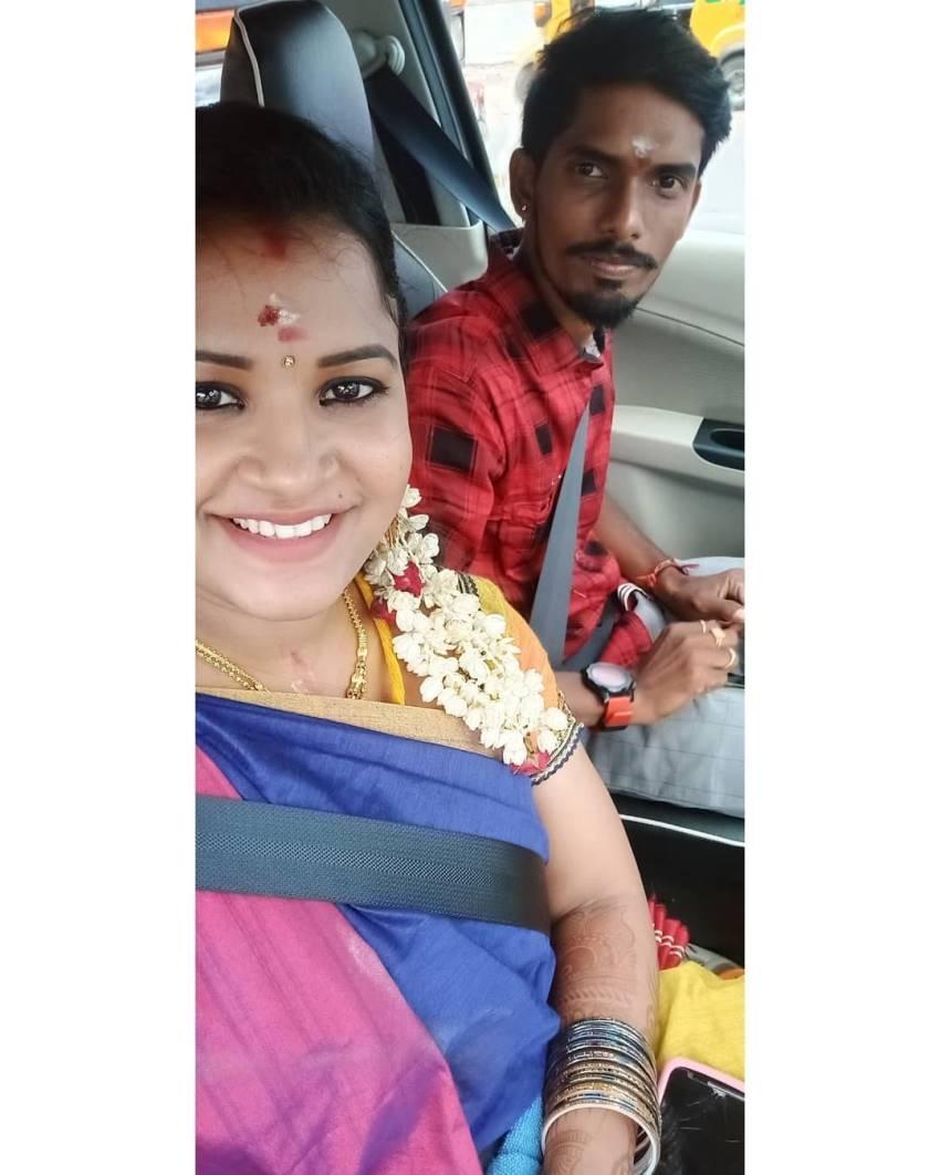 Sembaruthi fame Jennifer And Saravanan Wedding Photos