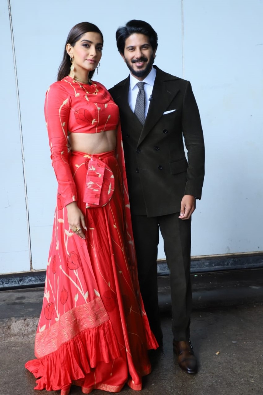 Sonam Kapoor and Dulquer Salmaan Promote 'The Zoya Factor' on the sets of Dance India Dance Photos