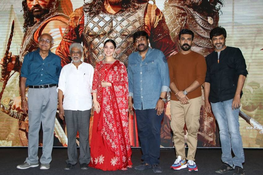 Sye Raa Movie Press Meet In Chennai Photos