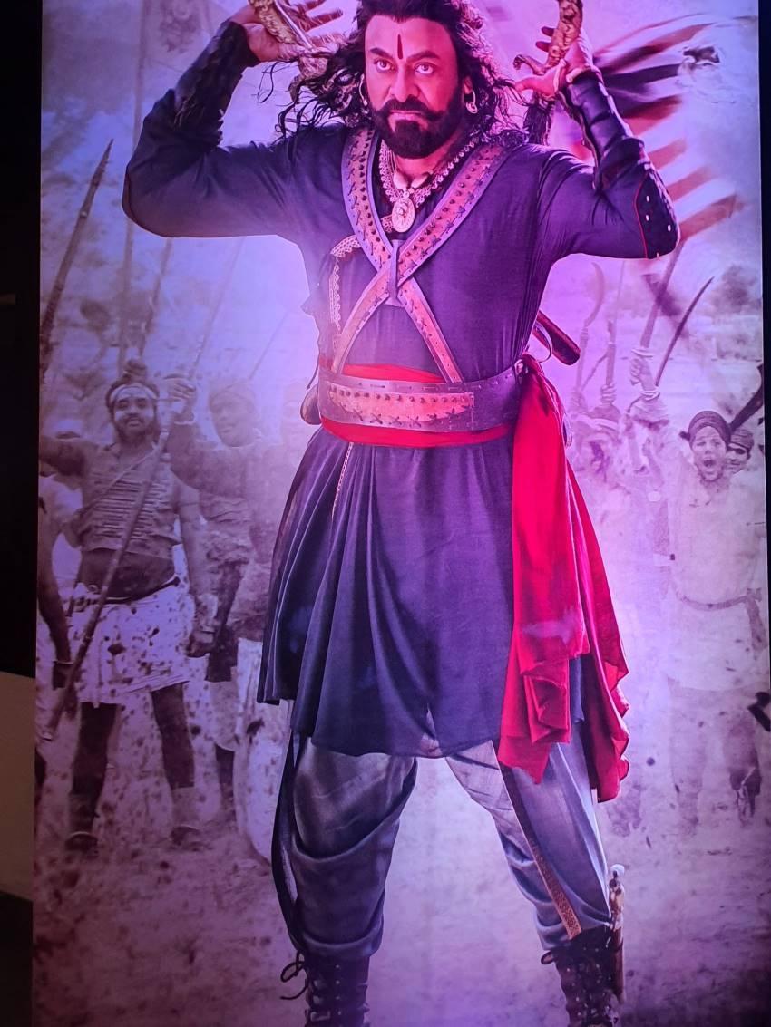 Syeraa Narasimha Reddy Movie Trailer Launch Photos