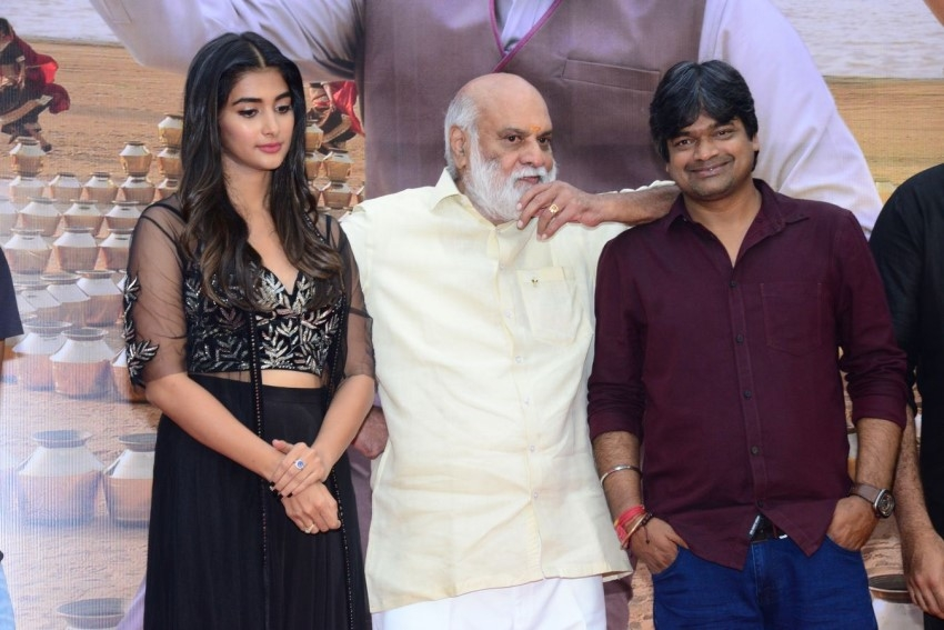 Valmiki Movie Press Meet Photos