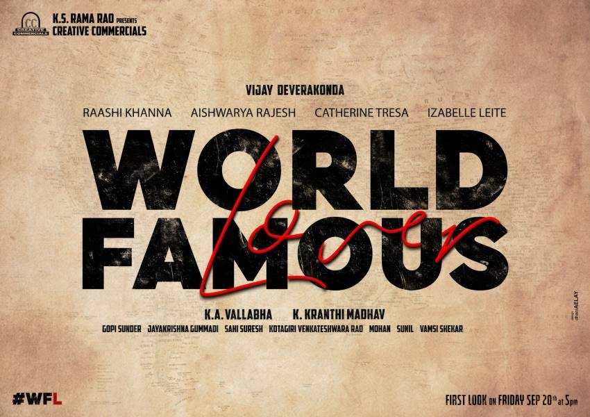 World Famous Lover Photos