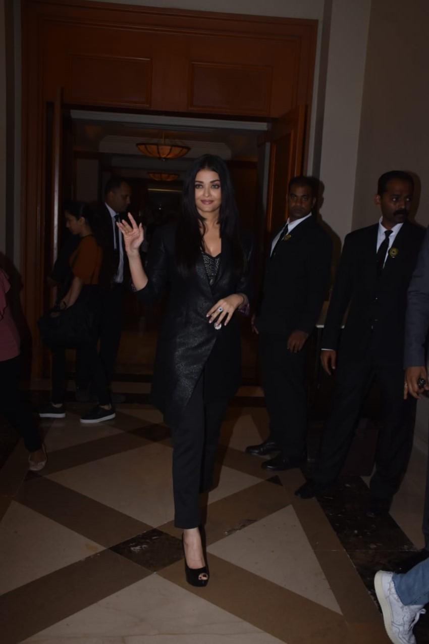 Aishwarya Rai Bachchan At Maleficent: Mistress of Evil Trailer Launch Photos