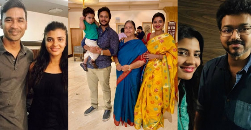 Aishwarya Rajesh Real Family And Unseen Photos