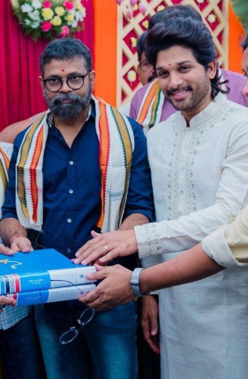 Allu Arjun AA20 Movie Launch Event Photos