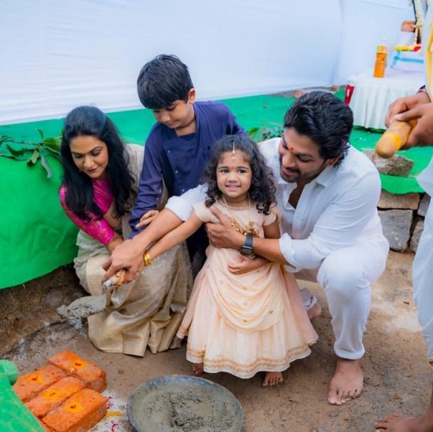 Allu Arjun Family Unseen & Rare Photos