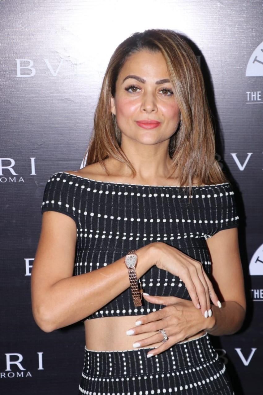 Amrita Arora at Bvlgari Roma and Time Avenue Watch Launch Photos