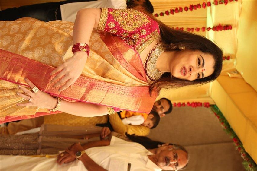 Archana Shastry Engaged To Jagadeesh Photos