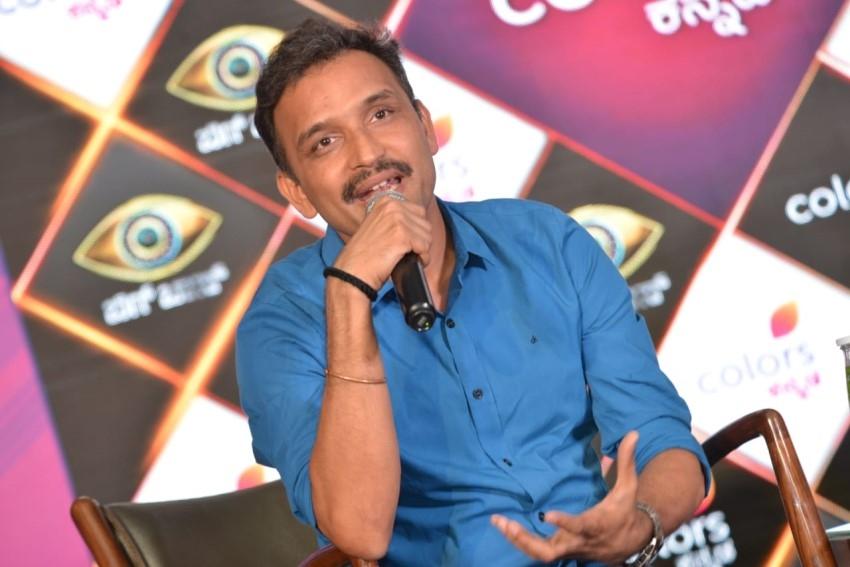 Bigg Boss Kannada 7 Press Meet With Sudeep Photos