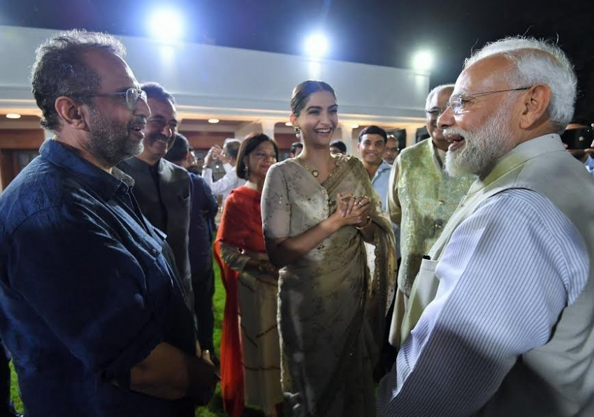 Bollywood Celebs At 150 Years Of Celebrating The Mahatma Photos