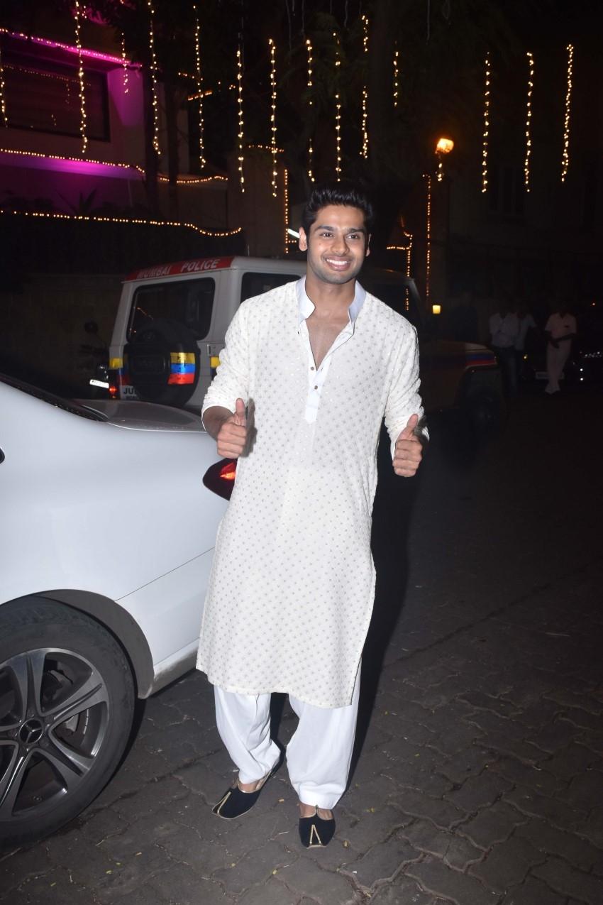 Celebs At Anil Kapoor's Diwali Bash 2019 Photos