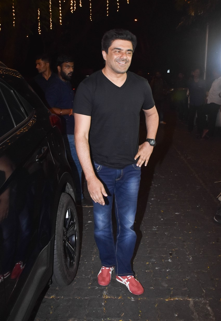 Celebs At Anil Kapoor's House For Karwa Chauth Celebration Photos