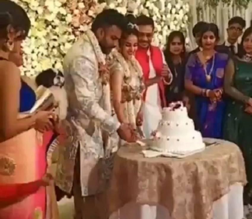 Chandan Shetty & Niveditha Gowda Engagement Photos